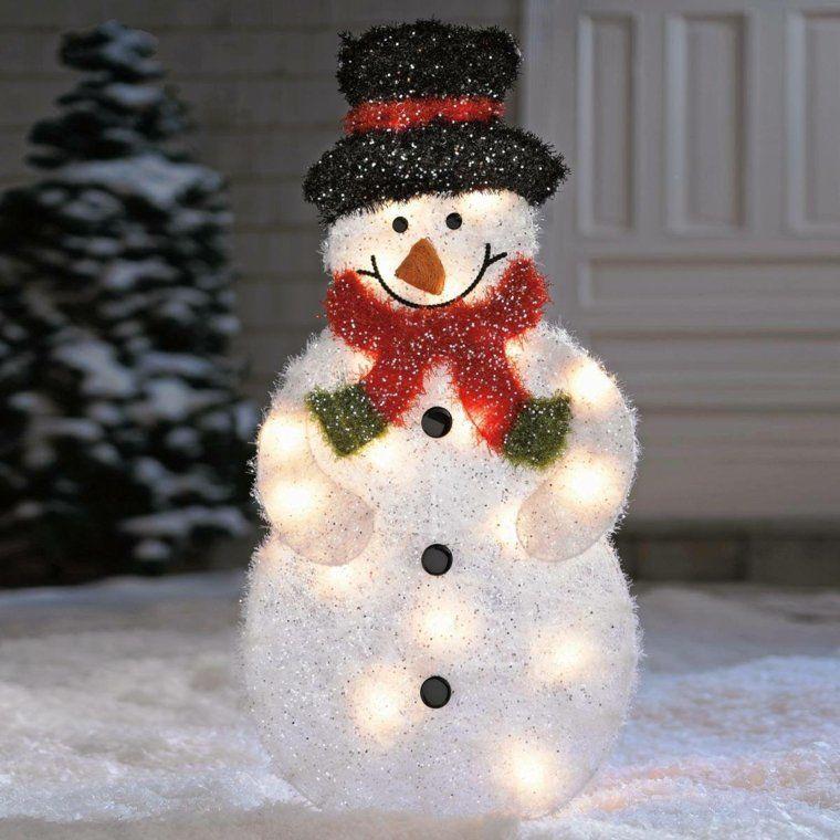 D corations de no l faire soi m me pour l 39 ext rieur d corations de no l bonhomme de neige - Decoration de noel faire soi meme pour l exterieur ...
