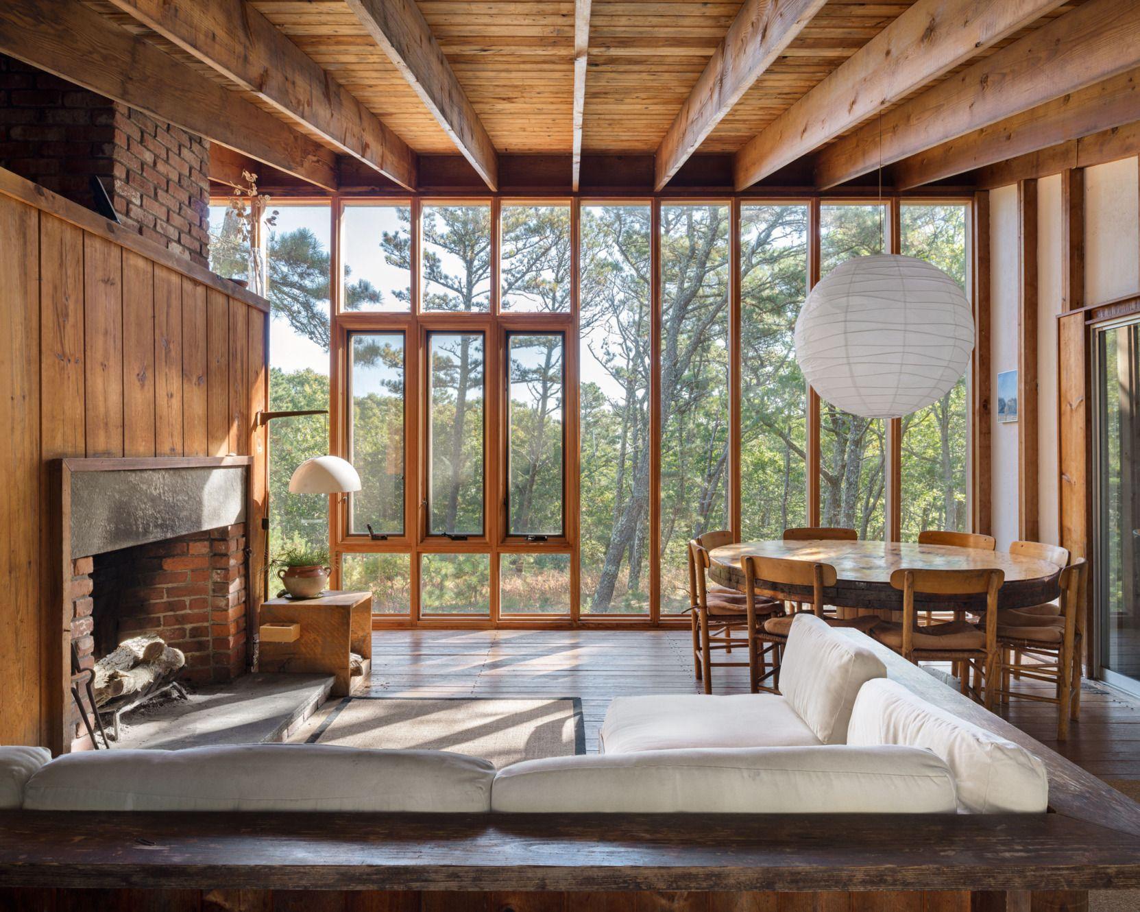 Halprin House, 1965. Cape CodCapesWoodsWindowsGoogle SearchModern HomesContemporary  HomesInterior DesignInterior Styling