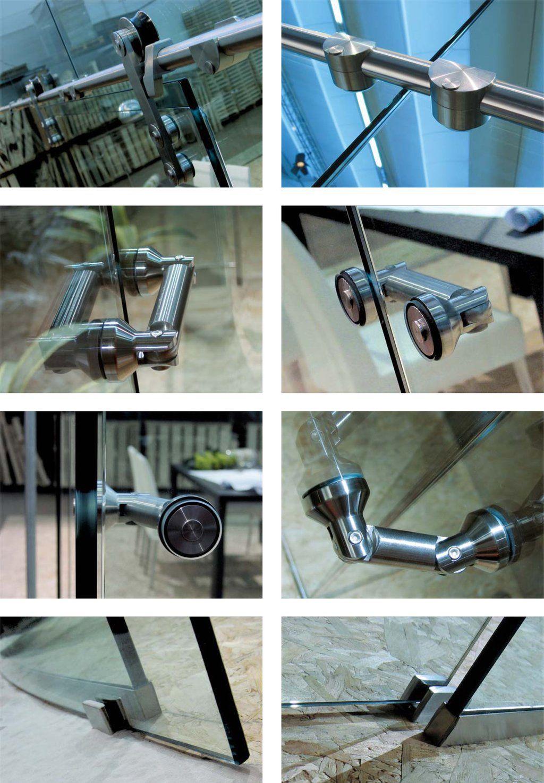 Modernus Glass Hardware Details Mimari Detaylar Korkuluklar Mimari