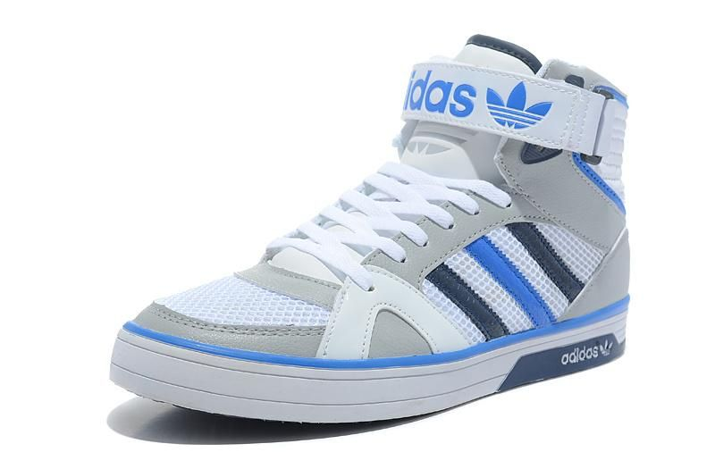 Adidas space diver High Tops Grey/White
