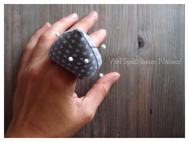Tutorial für ein Finger-Nadelkissen