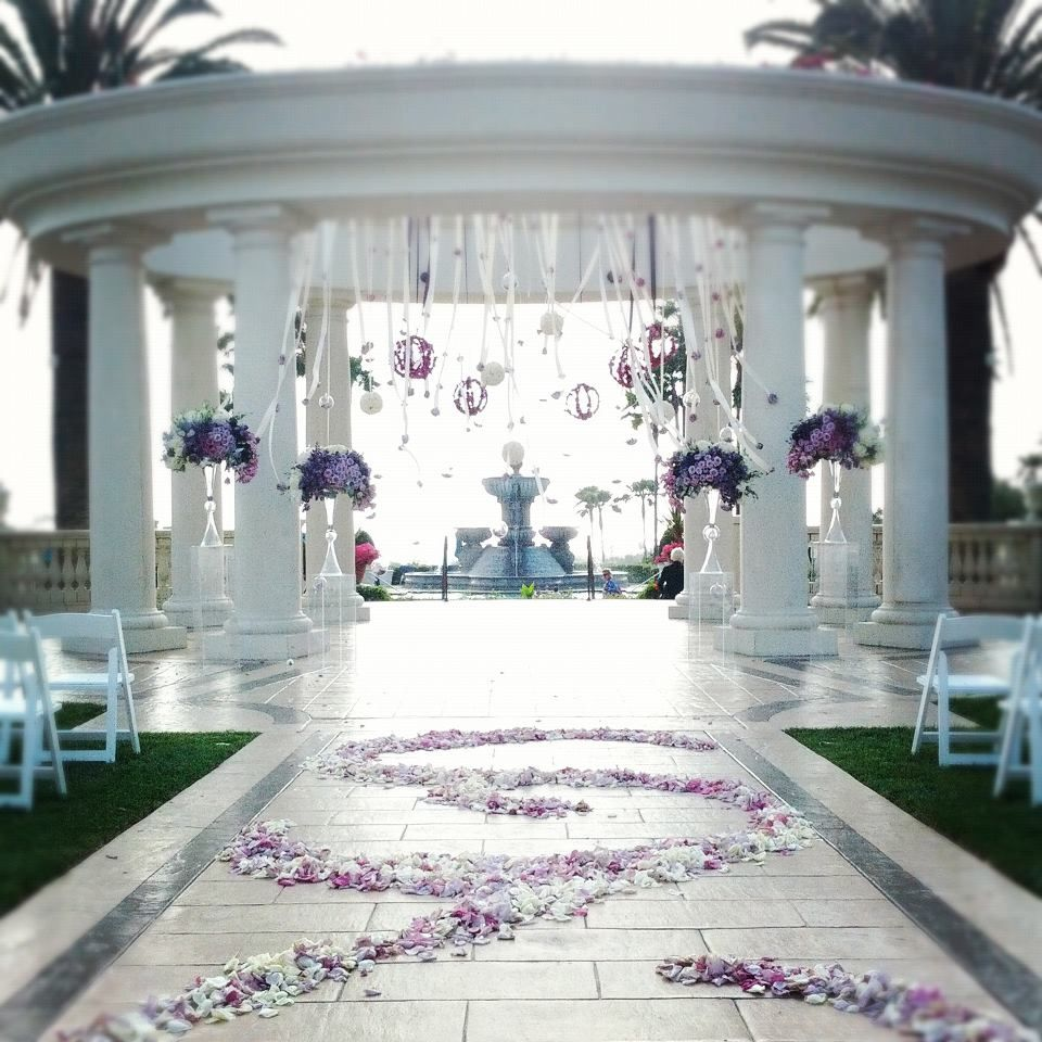 Ceremony Decorations, Outdoor Reception