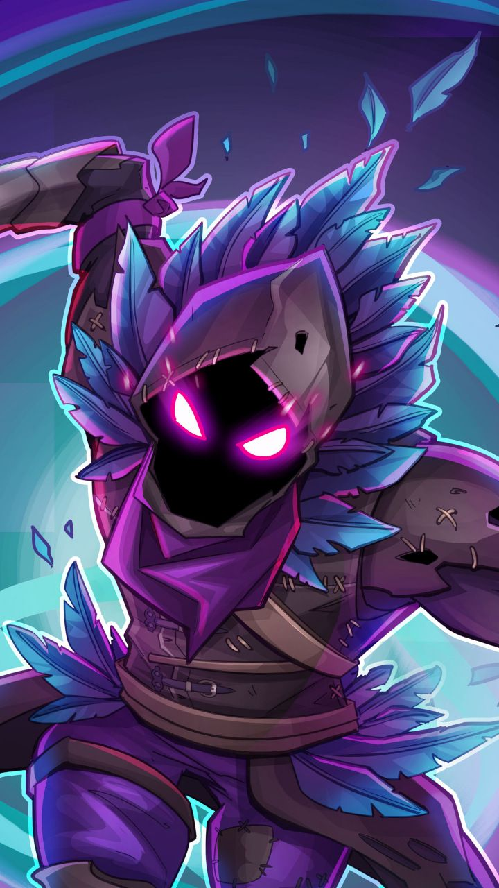 Raven Fortnite Battle Royale Creature Game 720x1280 Wallpaper