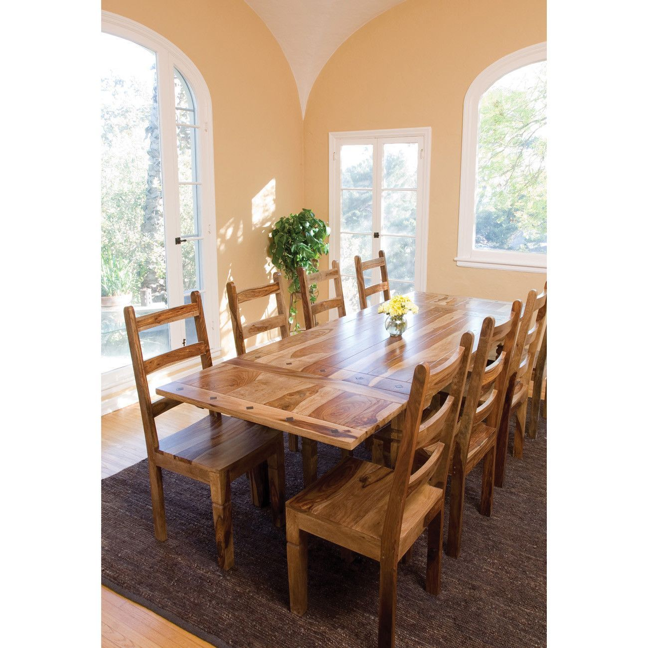 Sheesham Dining Table With Natural Finish Classic Home Furniture