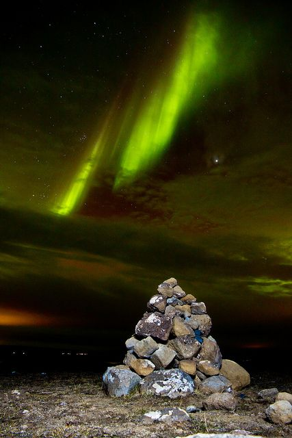 Aurora Over Pingvellir by Jeff Hogan, via Flickr