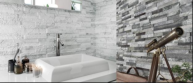 Gemini Tiffany Grey porcelain wall Tile 610x150mm Wall