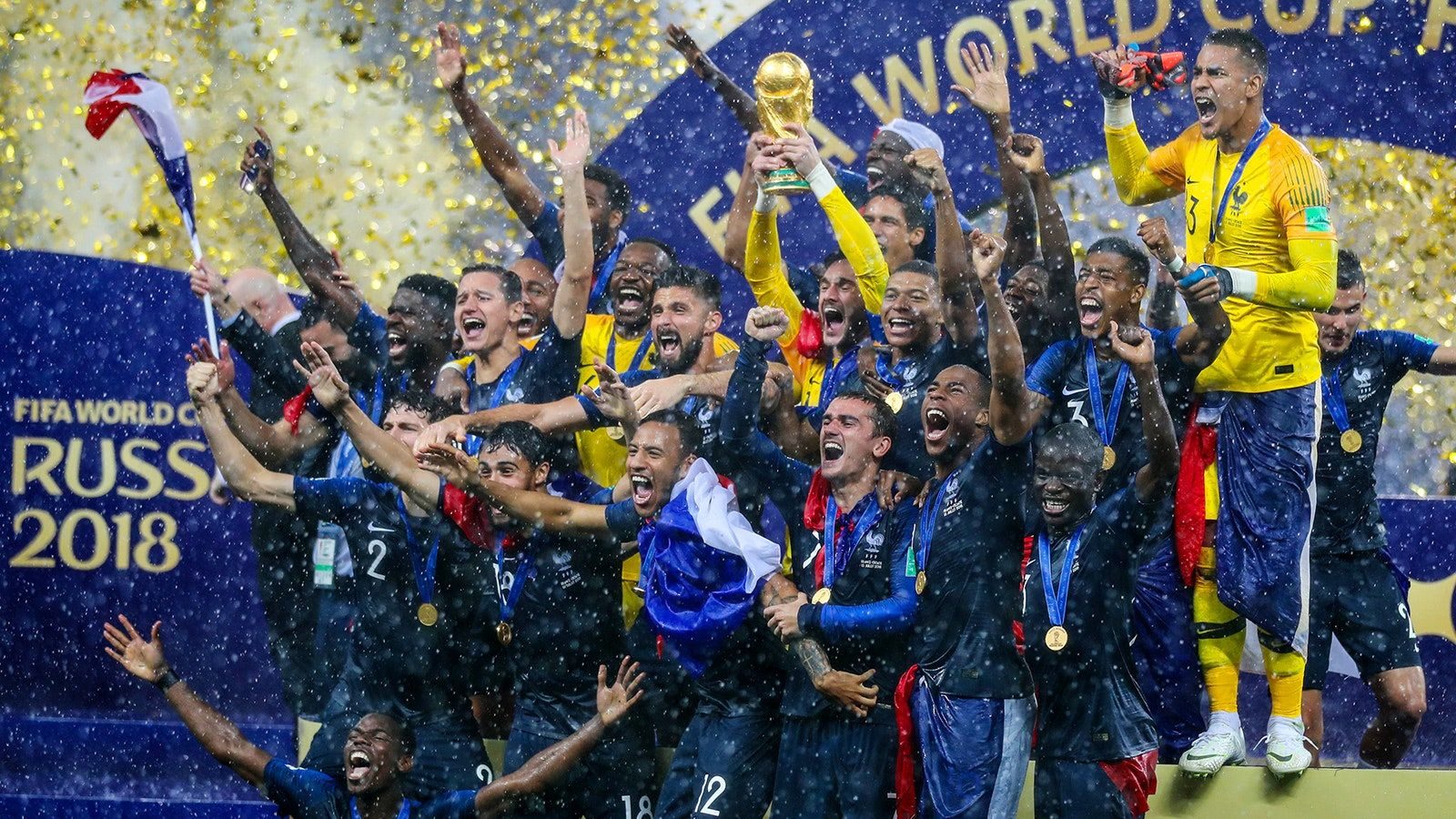 PSG un champion du monde 2018 (titulaire) pour jouer