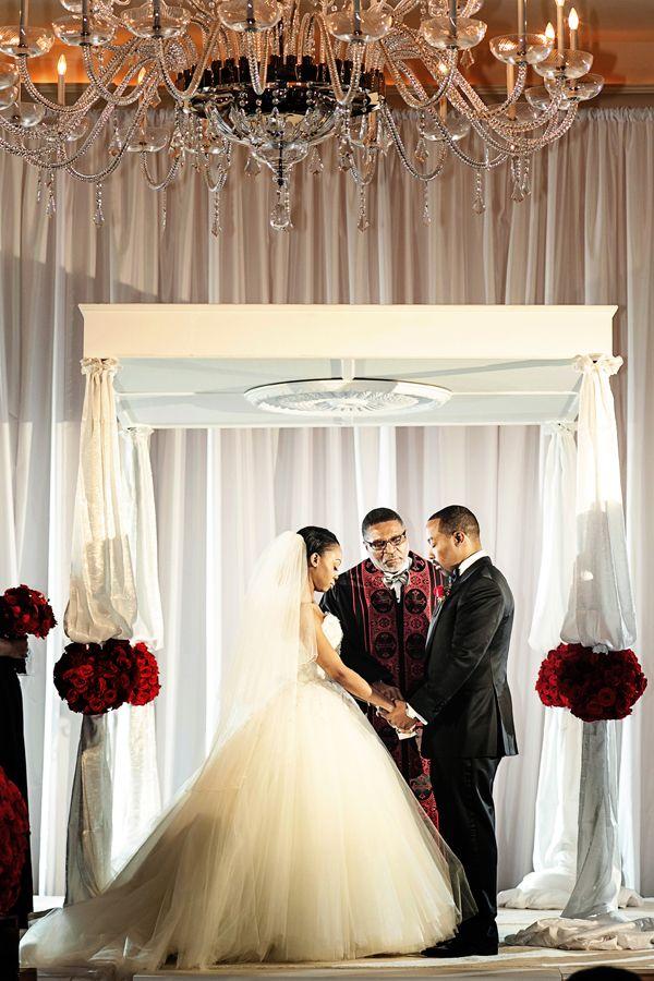 An Elegant Black Tie Wedding in Atlanta - Munaluchi Bridal Magazine ...