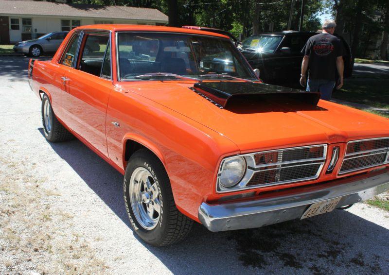 67 Plymouth Valiant Orange Classic Cars Trucks Hot Rods Mopar