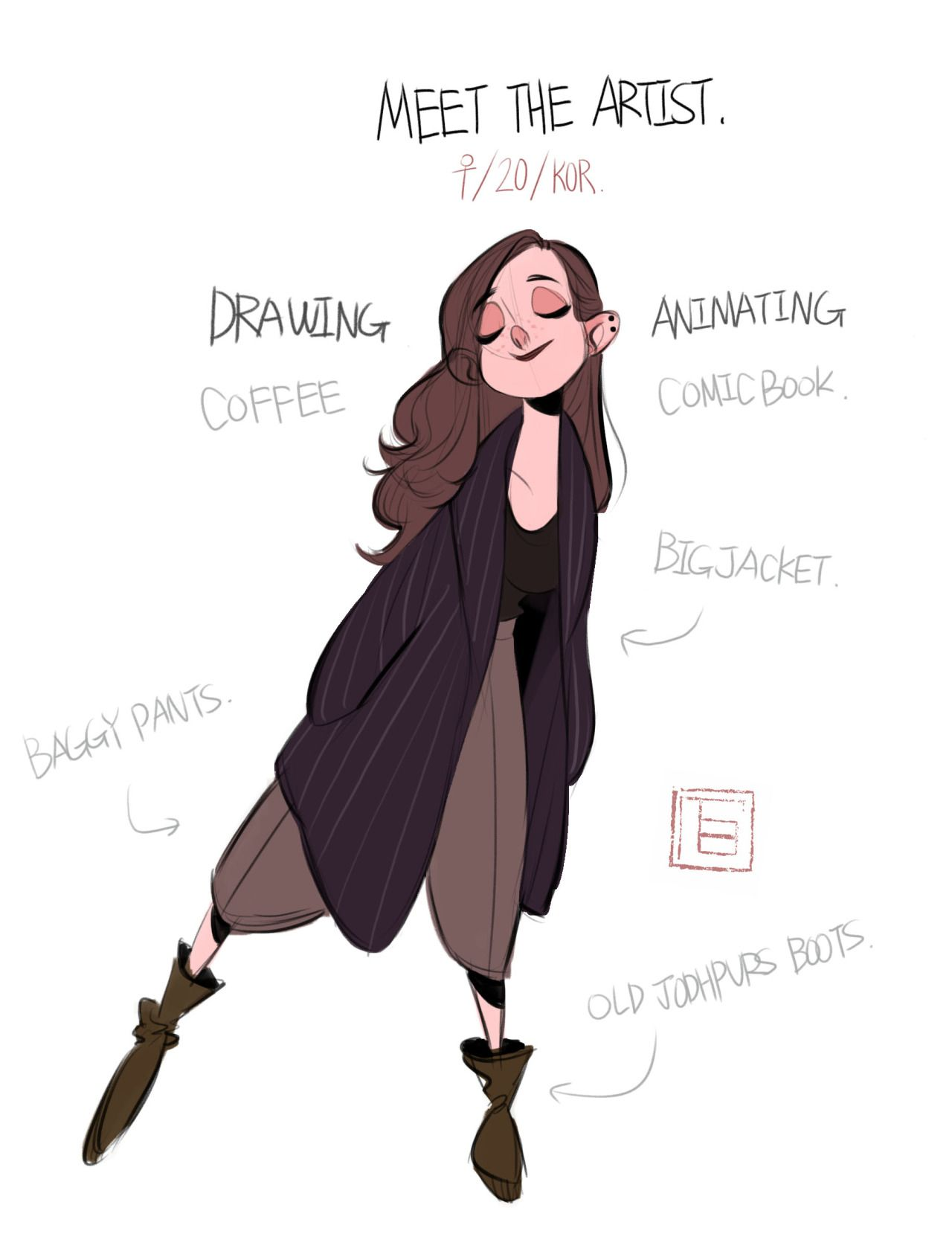Character Design References Website : Art by tb choi website https facebook