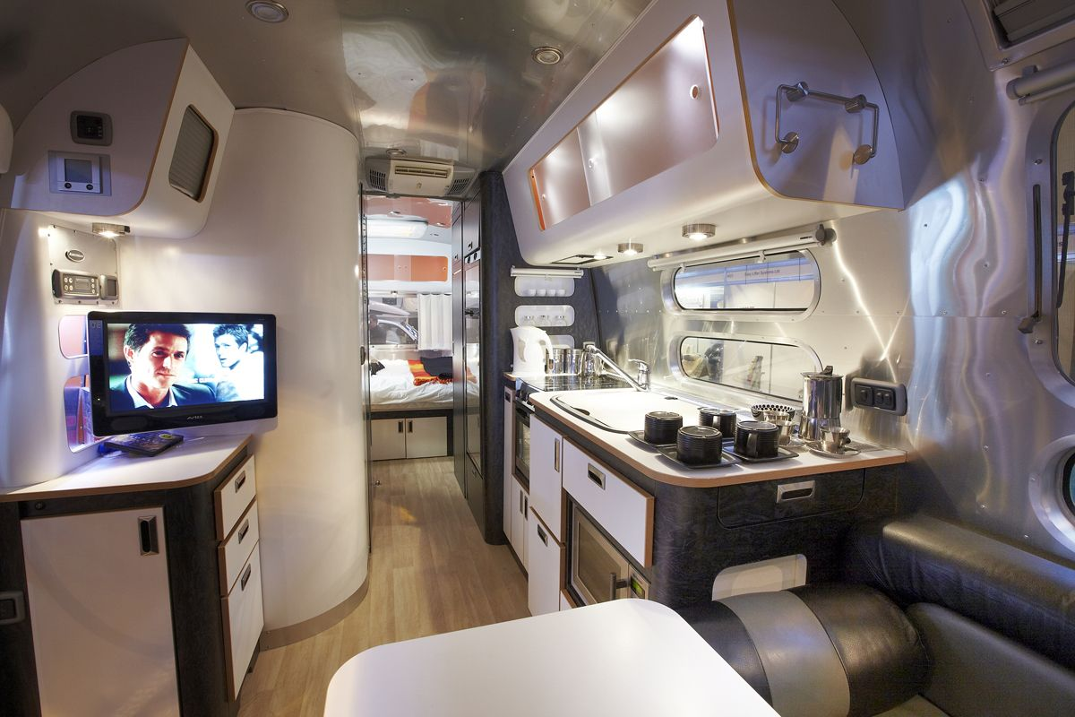 Stylish Airstream Refurb Airstream Airstream