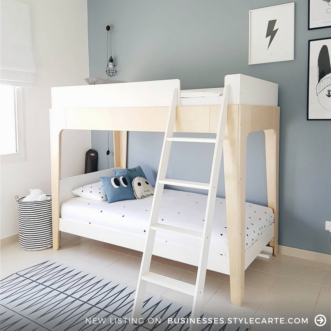 Have you seen this beautiful bunk bed before itus by oeuf nyc and