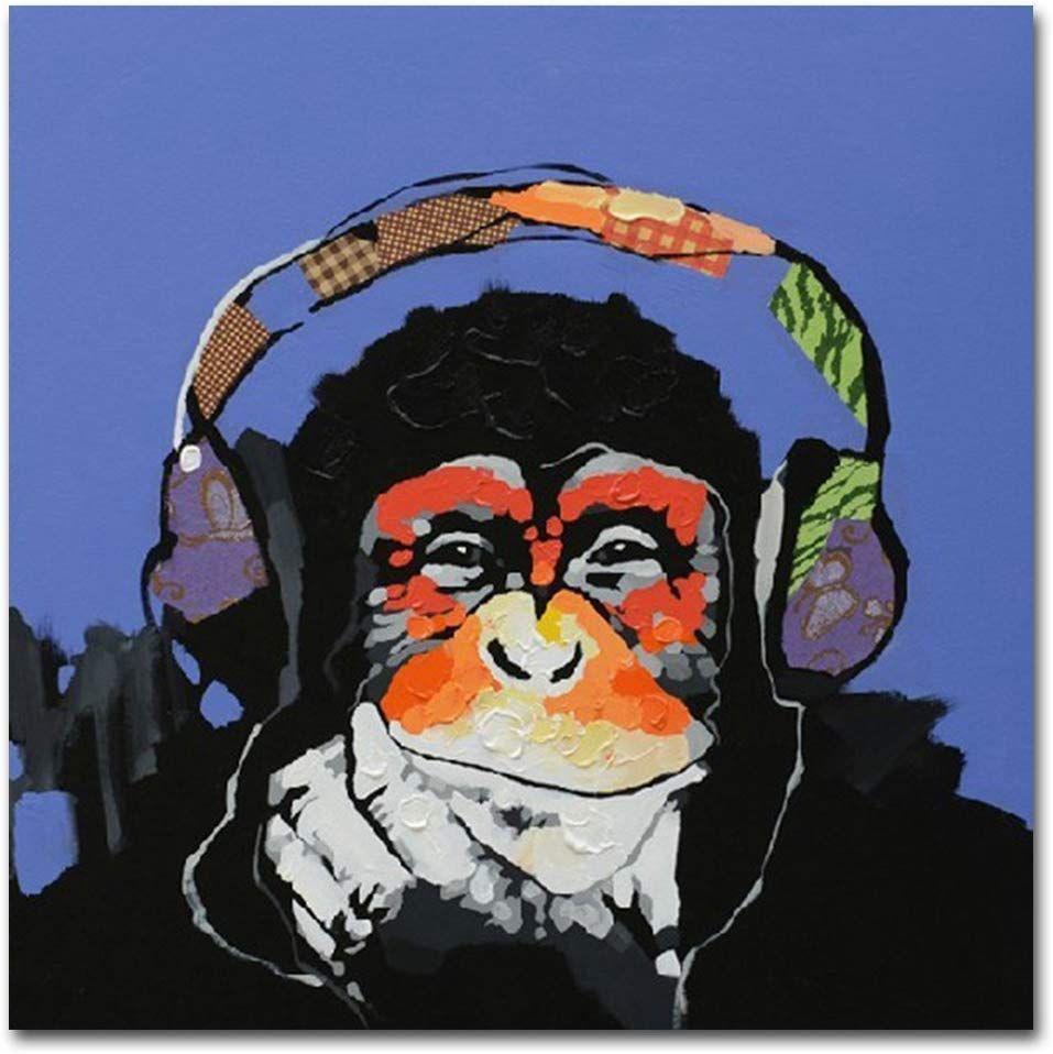 Amazon De Fokenzary 100 Handgemaltes Ölgemälde Auf Leinwand Pop Art Motiv Putziger Gemälde Auf Leinwand Artpop Kunstproduktion