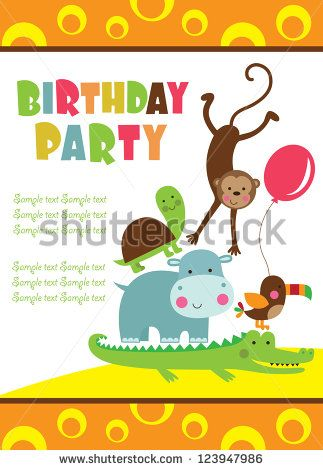 Free Birthday Invitation Card Vector Free Vector For Free