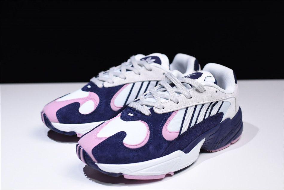 1cba86536530 Dragon Ball Z x adidas Originals YUNG-1 White Purple-Pink B37617 Free  Shipping