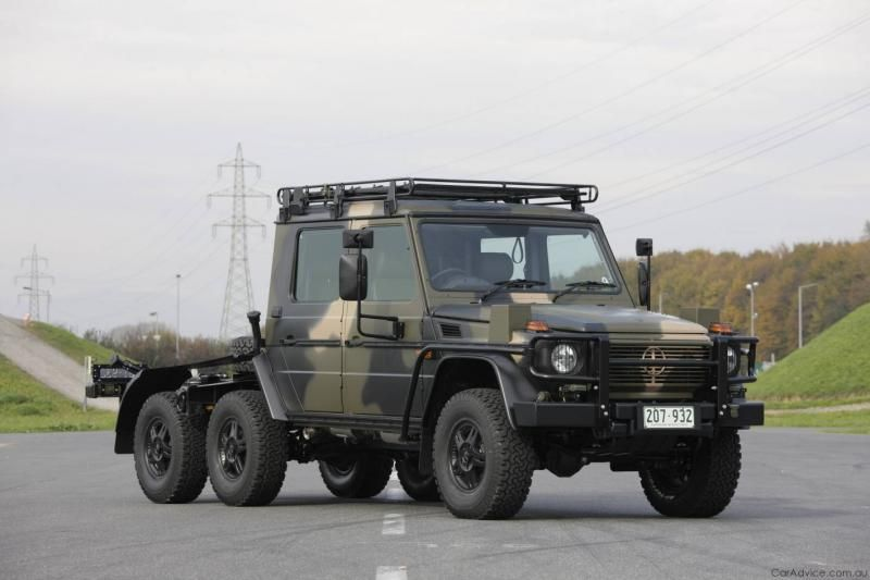 Armored mercedes benz g wagon variant trucks and off for Mercedes benz g class off road