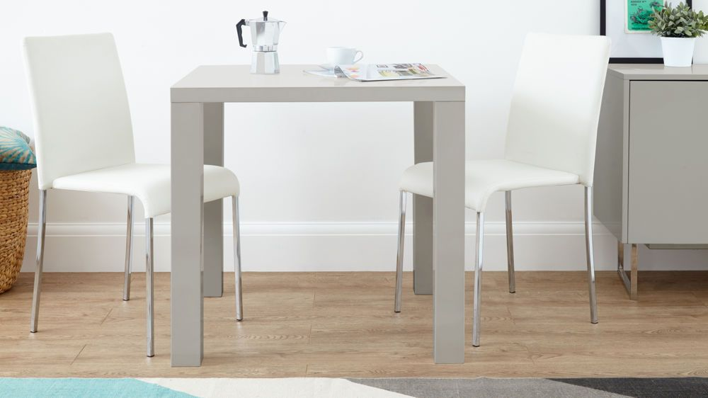 dining furniture    modern 2 seater     fern grey gloss and tori stackable kitchen dining set   grey gloss      rh   pinterest com
