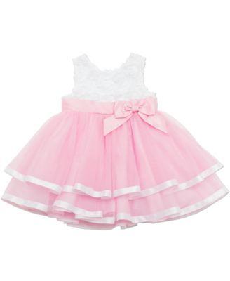 2b26edf0bd9f Rare Editions Baby Girls' Special Occasion Dress | macys.com ...