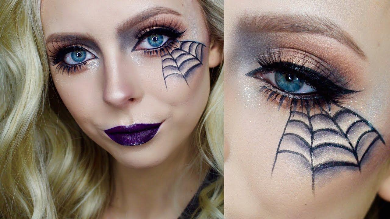 Quick Easy Halloween Makeup Cosmobyhaley YouTube Makeup