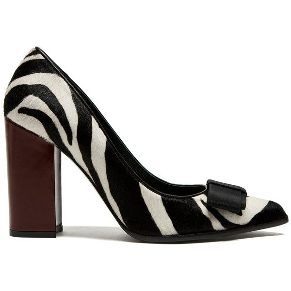 b7b4f9b5a0c7 Mulberry Bow High Heel Pump ( 685) ❤ liked on Polyvore featuring shoes