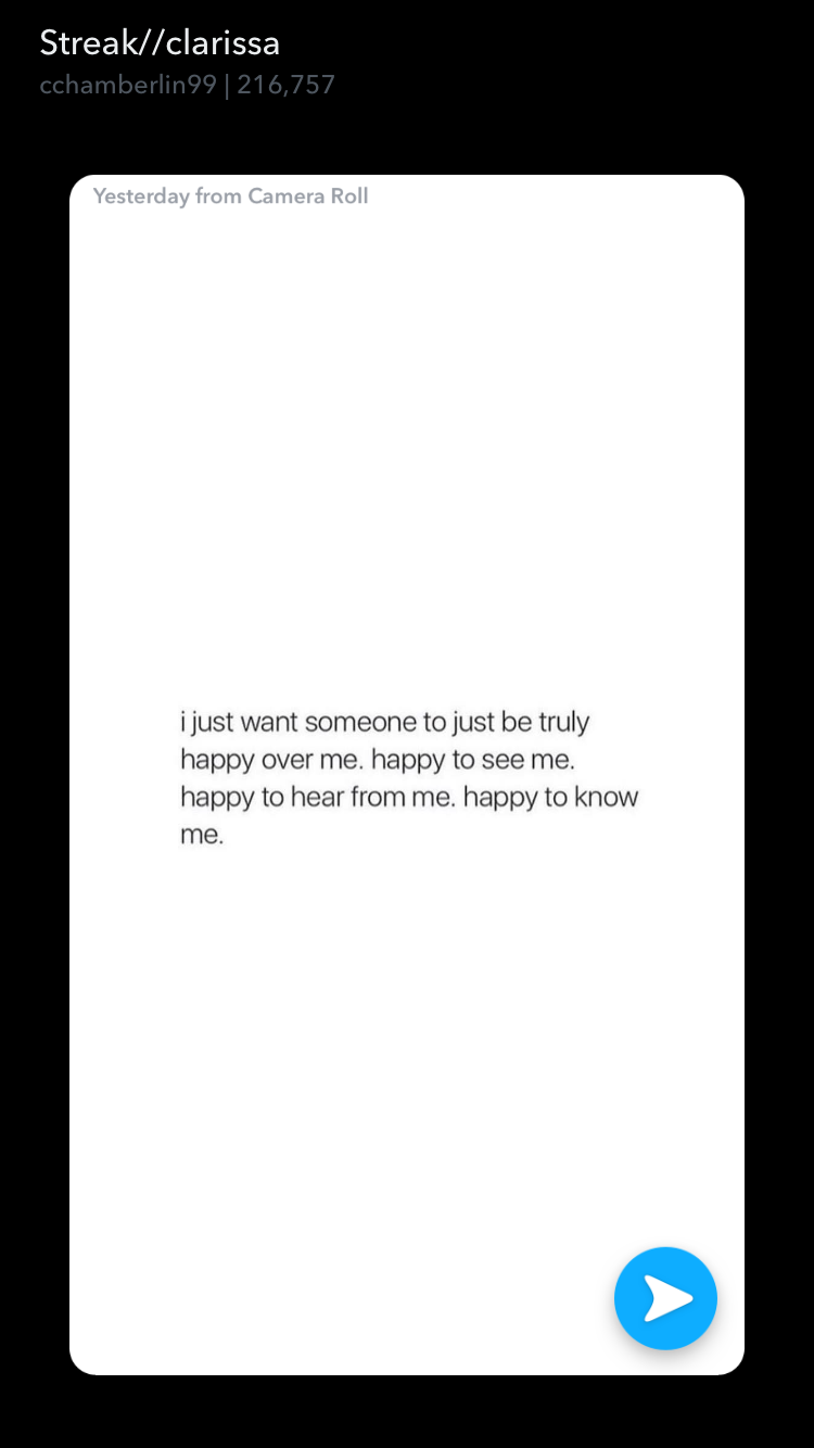 Someone That I Want Someone That I Am Excited To Know About Take