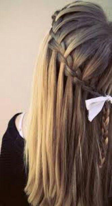 Hair Braid Style Fishtale Fish Tale Hair Styles Hair Makeup Hair Chalk