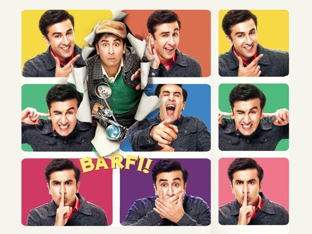 Barfi! - Ranbir Kapoor - Movie Poster | Bollywood movies ...