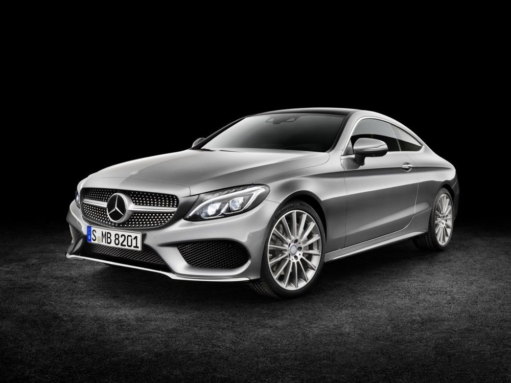Mercedes-Benz :	Le Coupé Classe C