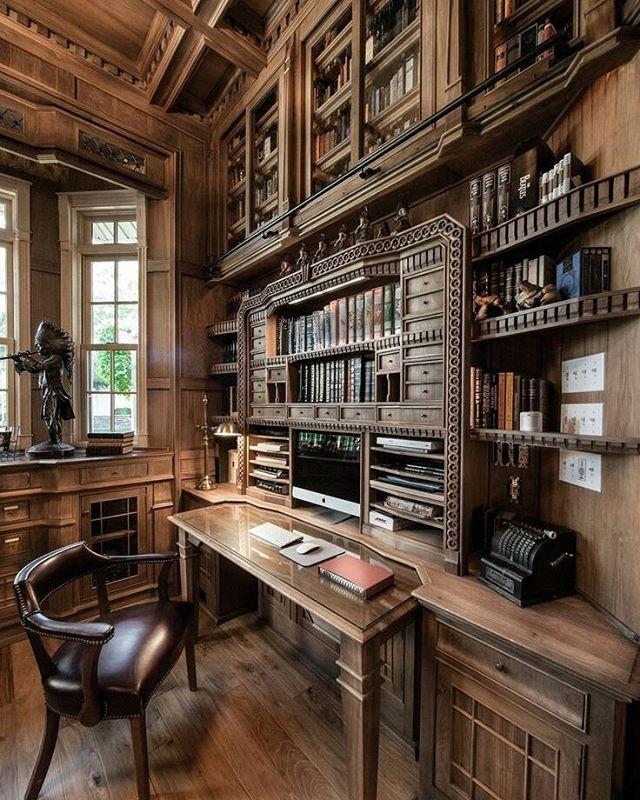Beautiful Wood Interior