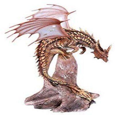 Trinx Pterosaur Metal Dragon Resin Figurine - Trinx Dragon meets dinosaur is there really a difference, anyway? This pterosaur dragon has been do - #decorart #decorsmallspaces #decorvideos #disneytatto #diybedroom #diychristmas #diydekoration #diymanualidades #dragon #dragontatto #figurine #mandalatatto #mediterraneandecor #metal #naturetatto #pterosaur #resin #rosetatto #simpletatto #sunflowertatto #tattofrauen #trinx
