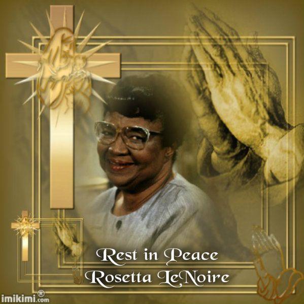 Rosetta LeNoire | In Memory | Pinterest | Funeral, Royals ... Rosetta Lenoire Funeral