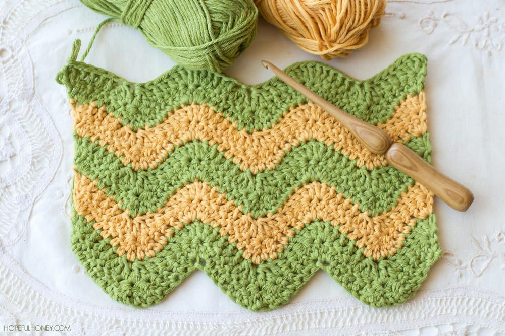 Learn to Crochet the Ripple Stitch | Tejido