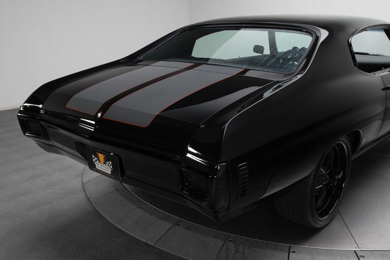 1970 Chevrolet Chevelle Super Sport Black For Sale