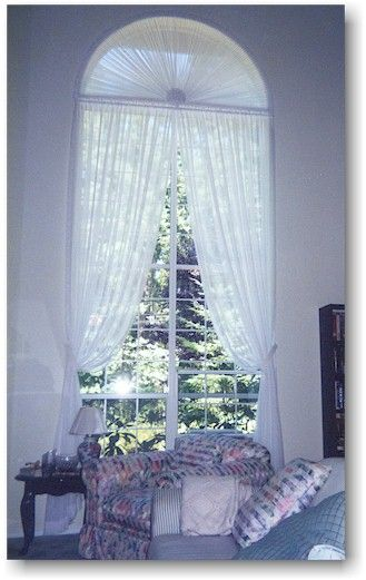 Photos Of Window Treatments For Round Top Windows Here Is Another