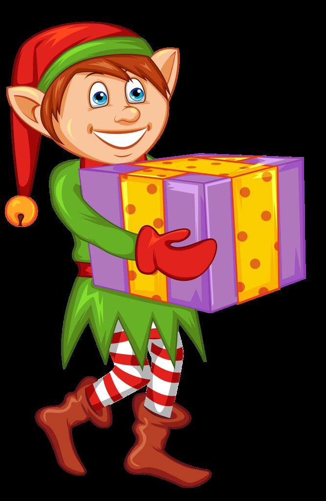 Dibujos navide os pap noel y gnomo for Gnomos navidenos