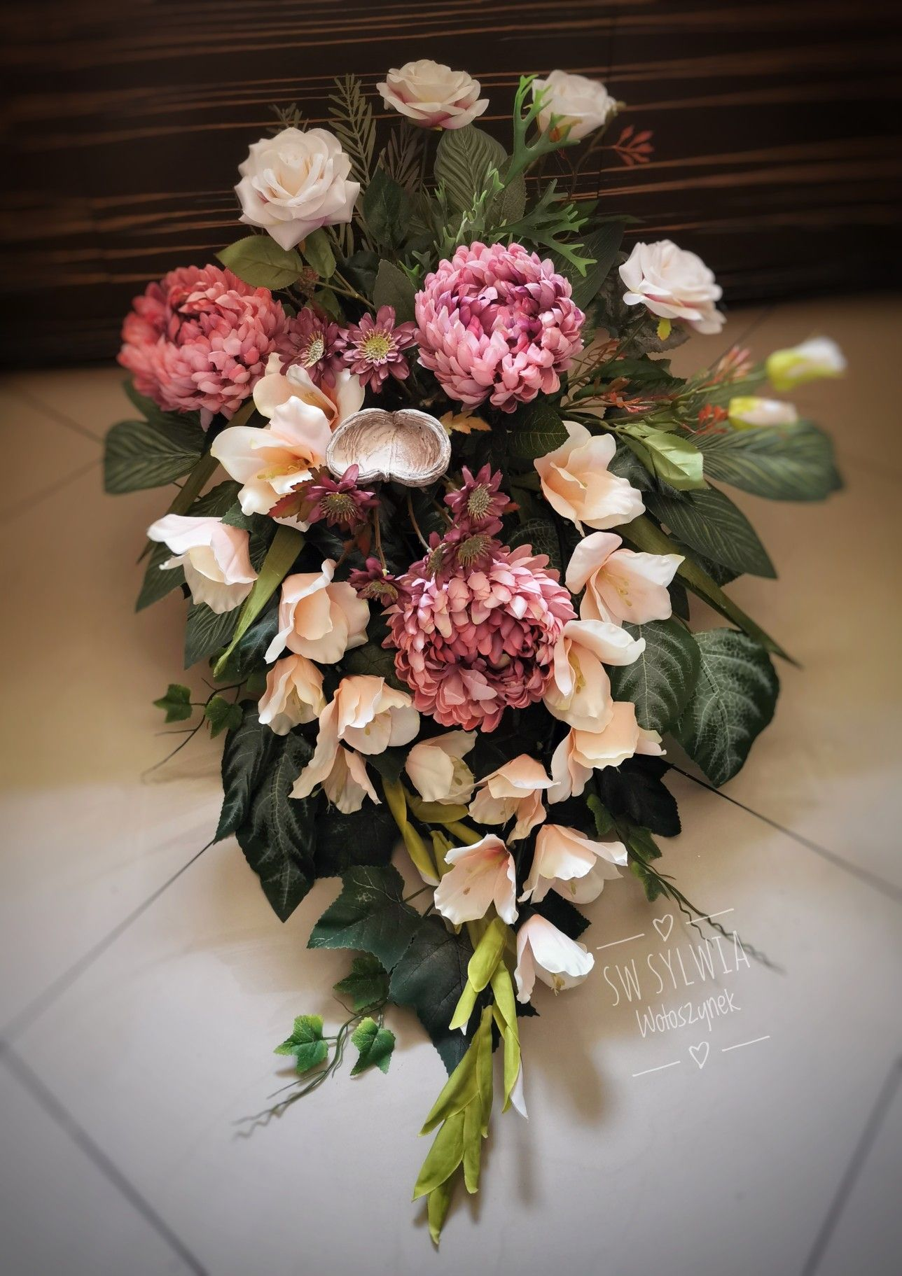 Kompozycja Nagrobna 2019 Floral Wreath Floral Funeral