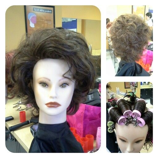 Conicle Roller Set Style Hair Styles Older Women Hairstyles Roller Set
