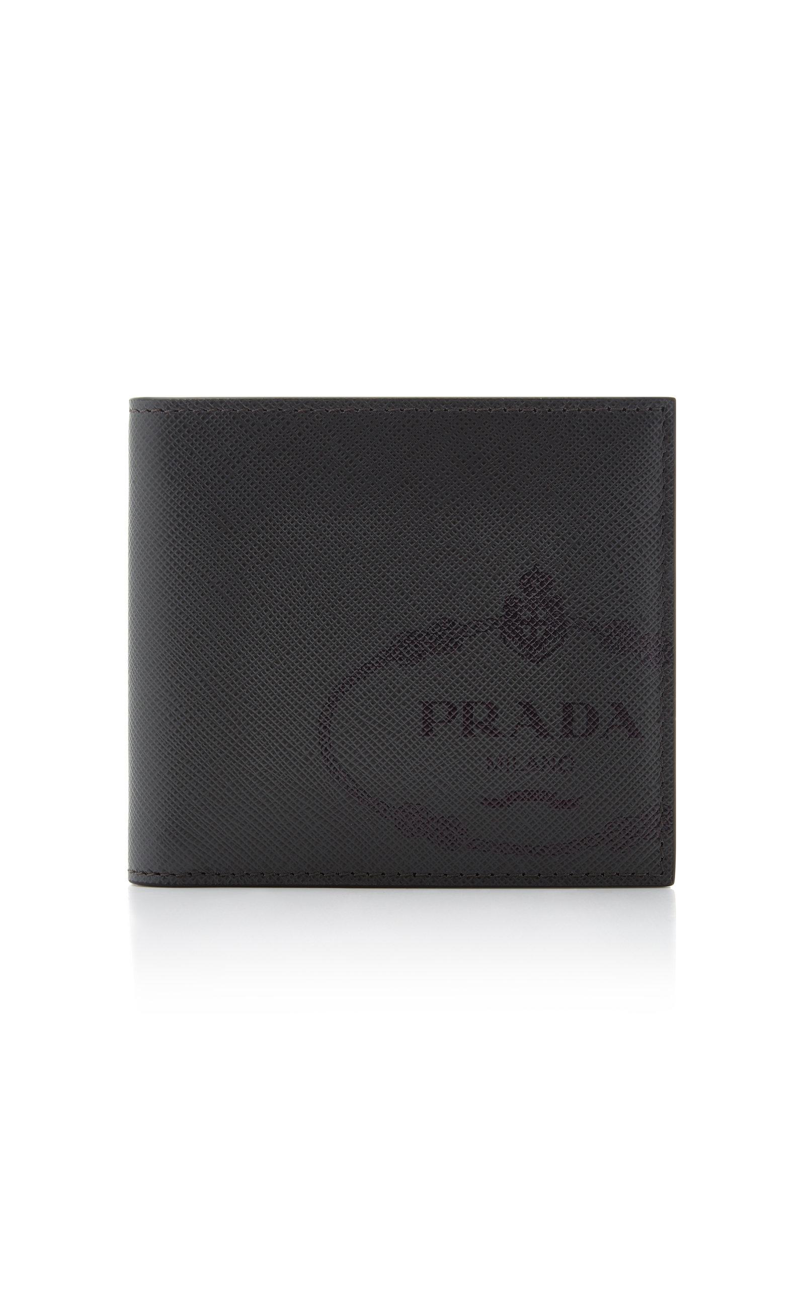 90612ee62779c2 PRADA TEXTURED-LEATHER WALLET. #prada | Prada in 2019 | Leather ...