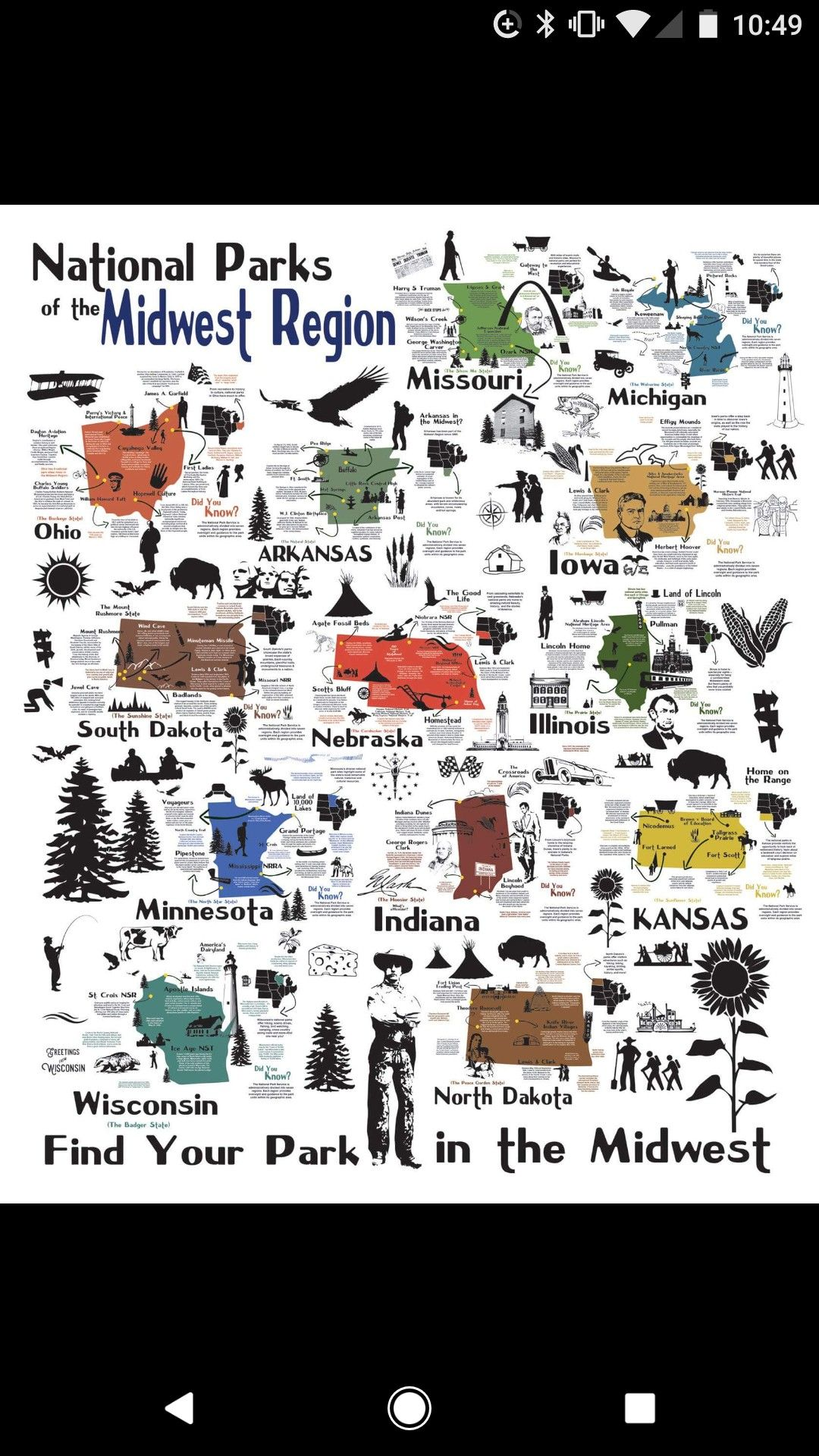 Find your park midwest michigan ohio midwest region