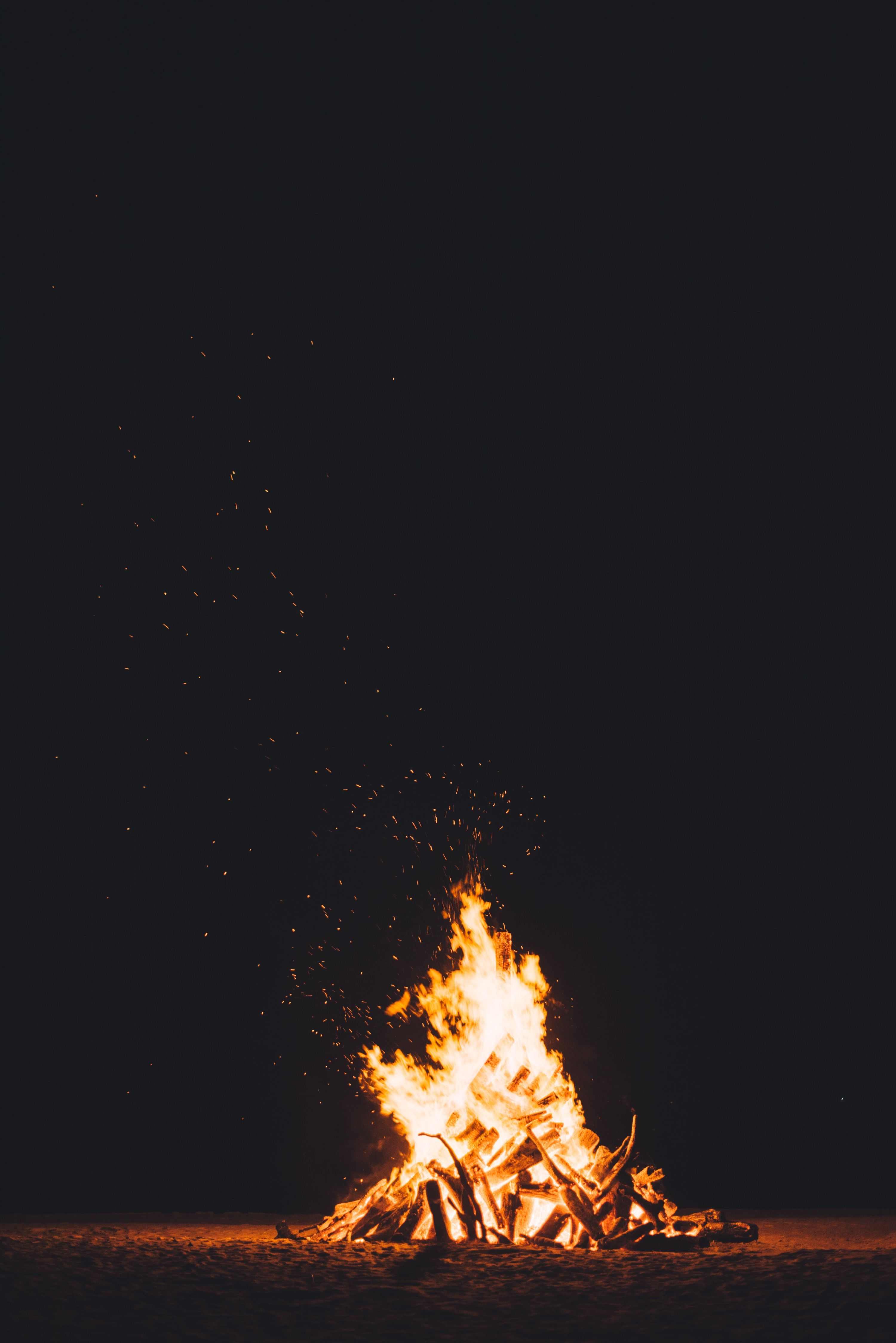 Photo By Chuttersnap Unsplash Fire Photography Fire Image Campfire