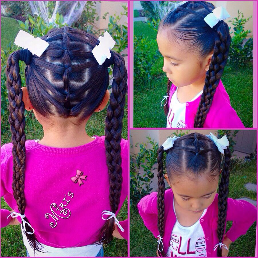 Hair style for little girls Красота и прически pinterest hair