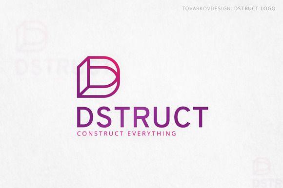 Dstruct Letter D Logo by Tovarkovdesign on @creativemarket | A to Z ...