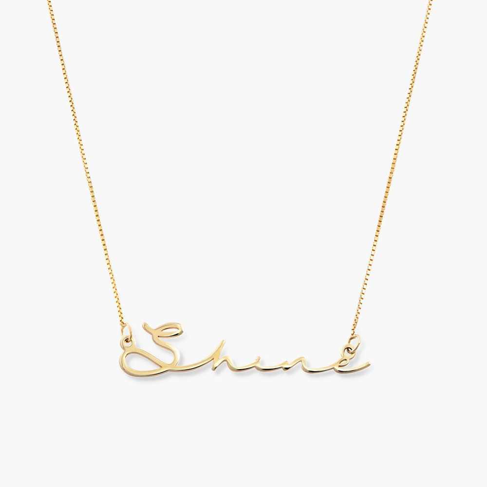 Mon Petit Name Necklace 10k Gold Curved Bar Necklace Diamond Cross Necklaces Diamond Bar Necklace