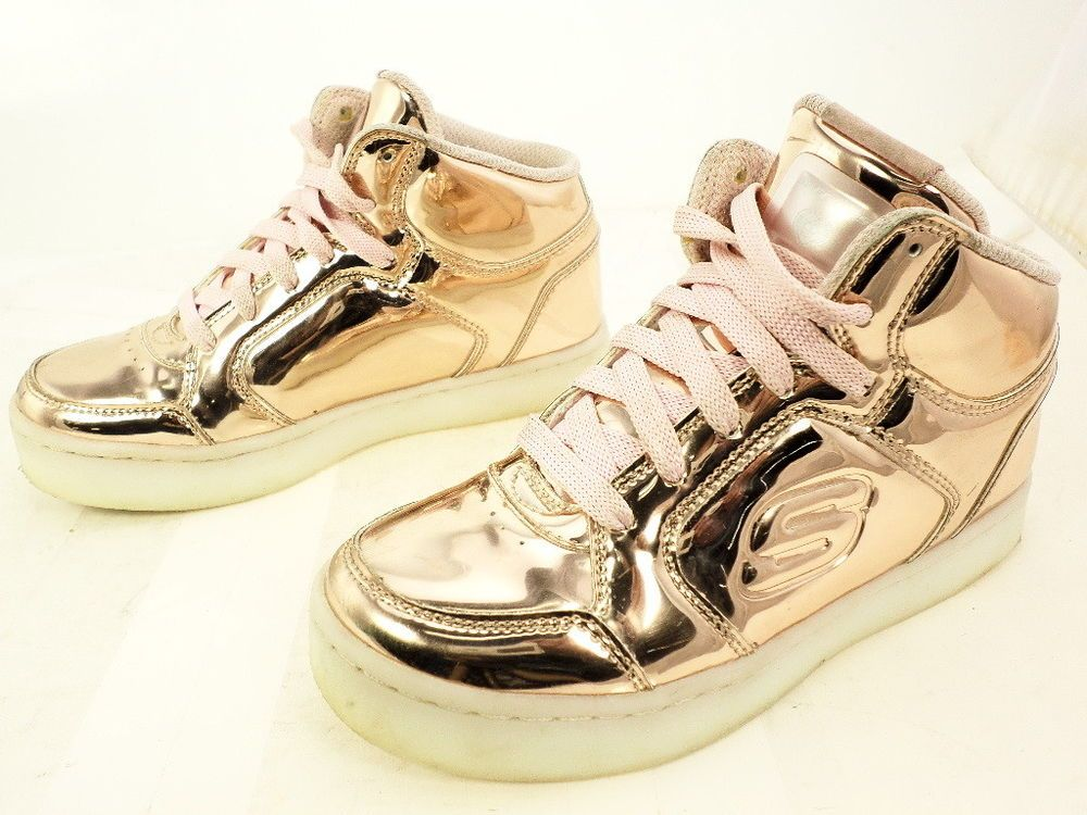 2285d264e793 Skechers Girl s S Lights Energy Lights Dance N Dazzle Sneaker Rose Gold  13.5  fashion  clothing  shoes  accessories  kidsclothingshoesaccs   girlsshoes (ebay ...