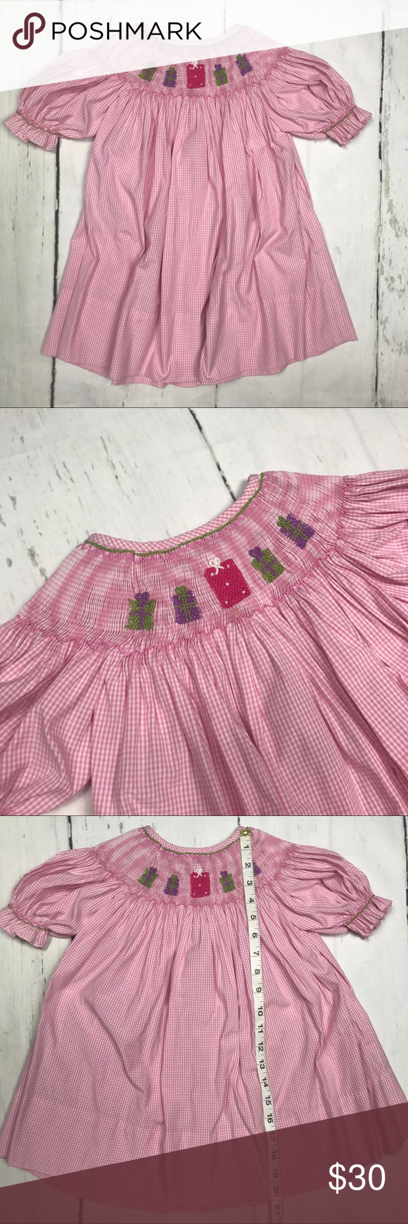 Lolly wolly doodle girls t birthday dress pink my posh closet