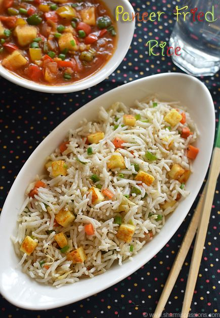 Paneer fried rice recipe how to make paneer fried rice fried rice paneer fried rice recipe ccuart Image collections