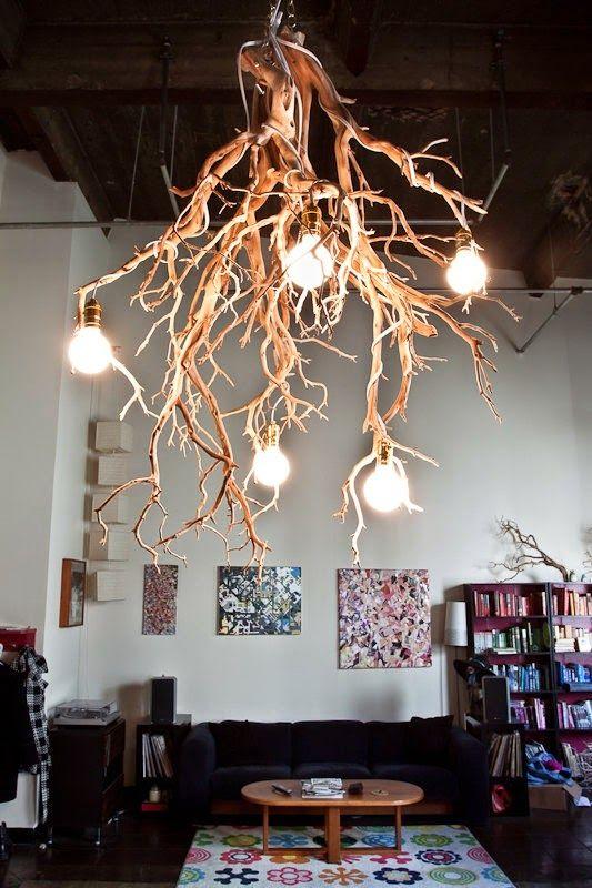 ECOMANIA BLOG Lámparas de Techo Recicladas Baños Públicos