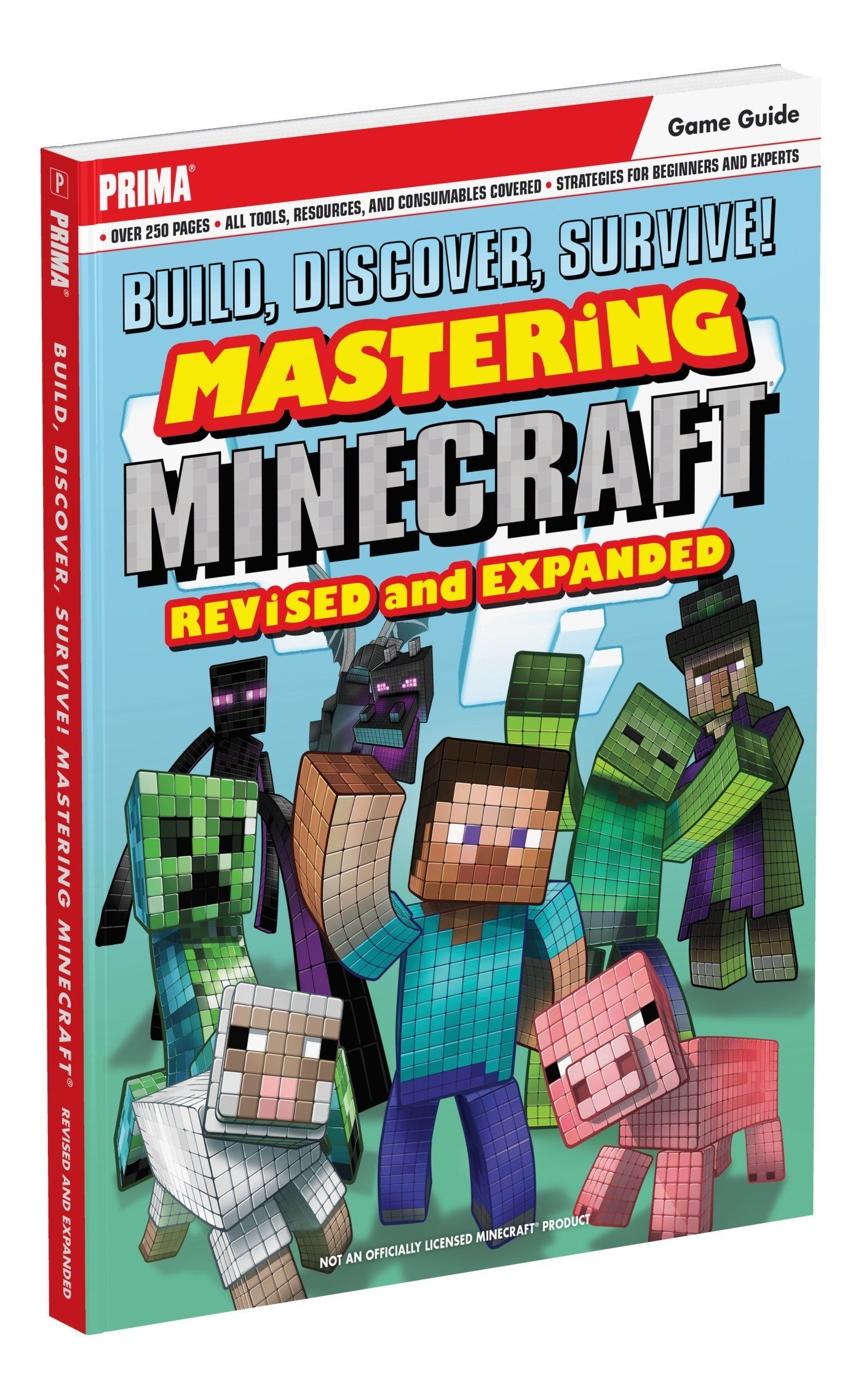 Build Discover Survive Mastering Minecraft Revised And