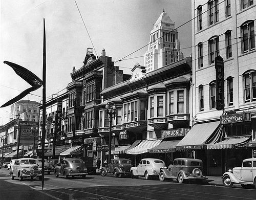 Los Angeles 1940s City Hall West Coast Road Trip California History Los Angeles History