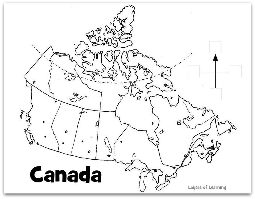 Grade 6 Canadian Geography Test Social studies Middle and School